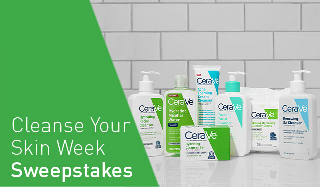 Cleanse Your Skin Week Sweepstakes