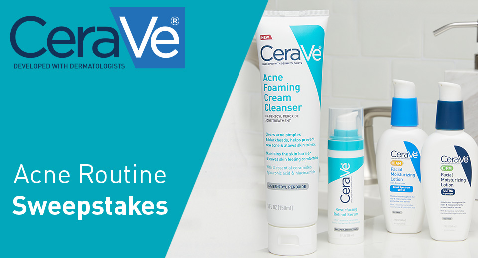 Acne Routine Sweepstakes