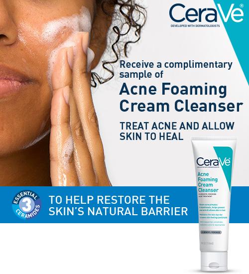 Acne Foaming Cream Cleanser Sample