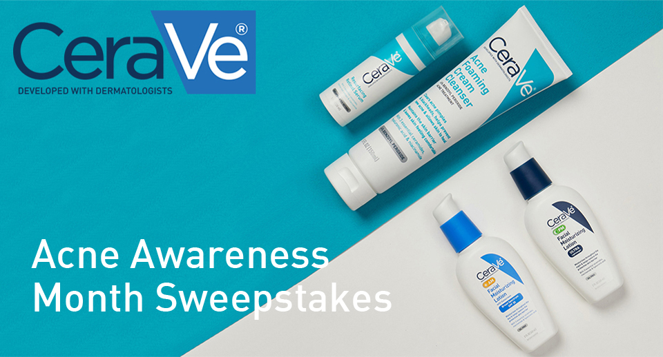 Acne Awareness Month Sweepstakes