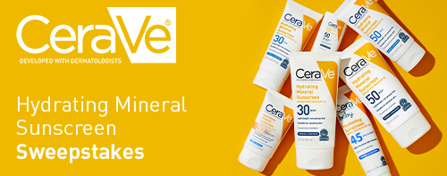 Hydrating Sunscreen Sweepstakes